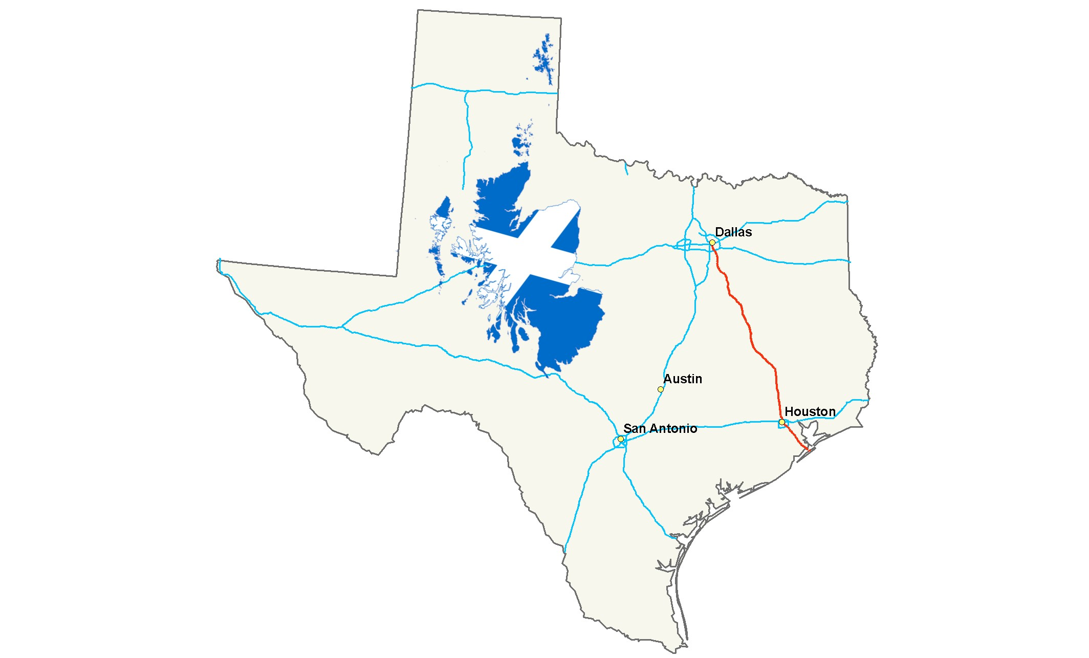Texas Compared to Scotland